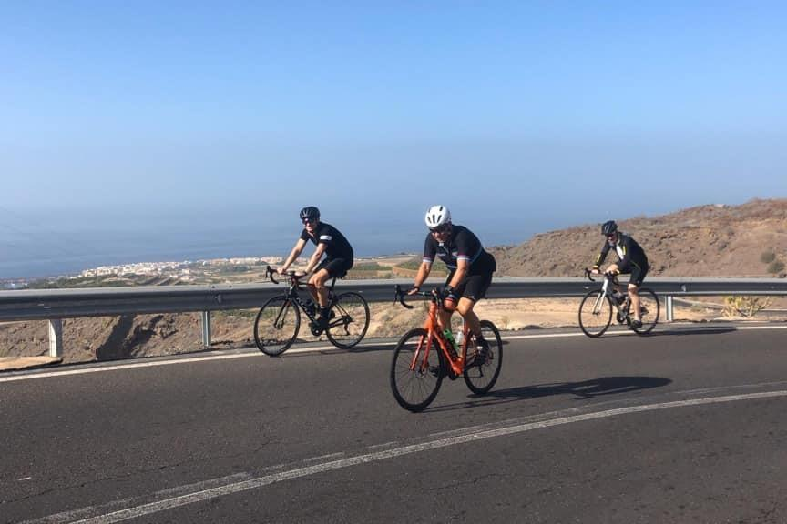 Banana Climb Los Gigantes Road Bike Tour