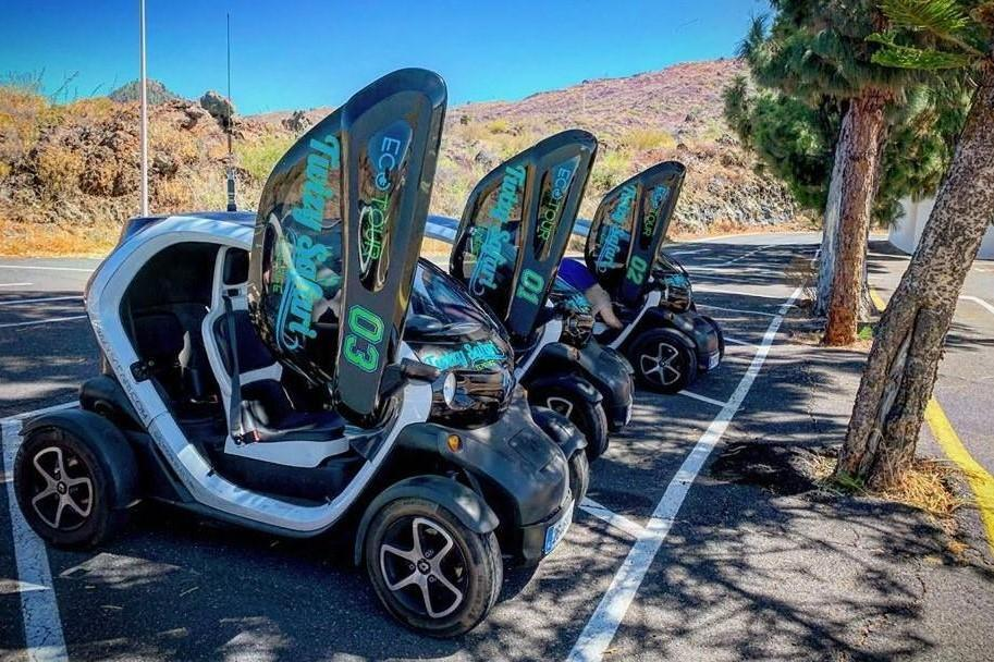 Electric buggy tour for 2 people