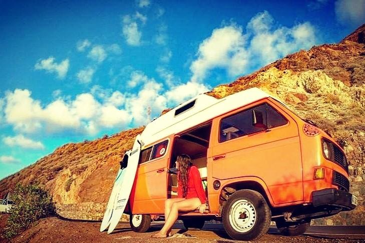 Campervaning in Tenerife